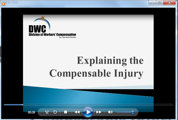 Video - Explaining the Compensable Injury